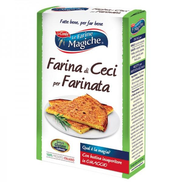 Farina di ceci per farinata, gluten free - 320 gr.