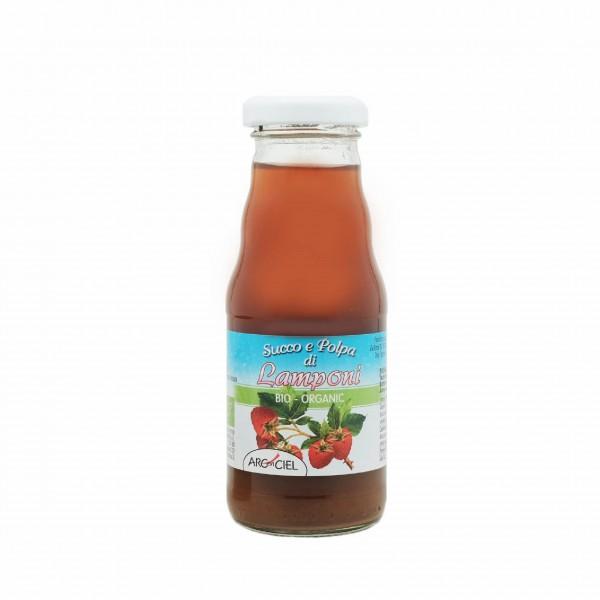 Organic raspberry pulp juice - 200 ml. x 6 btls