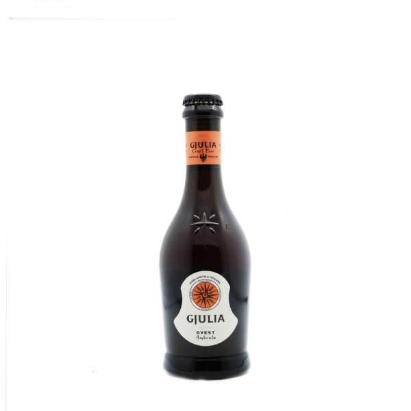 """Craft beer """"Ovest ambrata"""" - 33 cl. x 6 btls"""