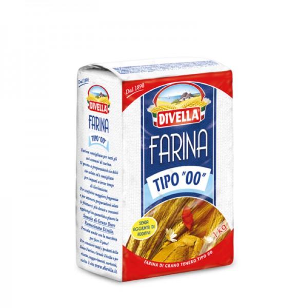 "Soft wheat flour ""00"" - 1 kg."
