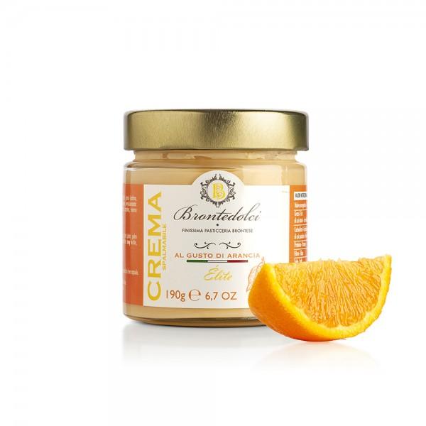 Orange flavoured spreadable cream - 190 gr.