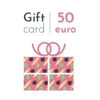 Digital gift card - 50 euro