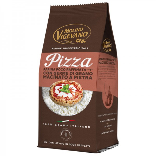 """Pizza flour """"type 1"""" with yeast - 500 gr."""
