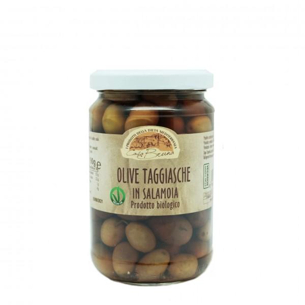 Olive Taggiasche Salamoia - 190 gr BIO